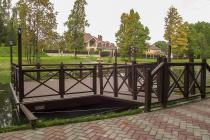 Понтонная смотровая площадка на воде КП Ваутутинки